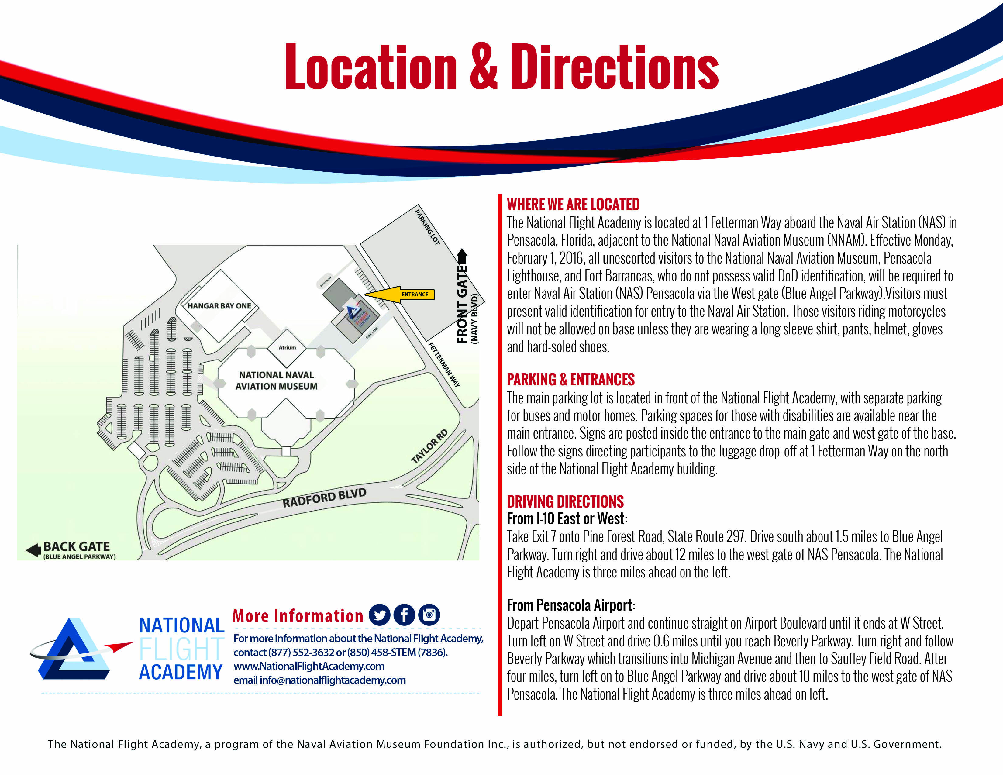 About The National Flight Academy National Flight Academy - Map Of Naval Aviation Basesin The Us
